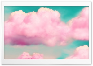 Clouds 3D Effect HD Wide Wallpaper for Widescreen