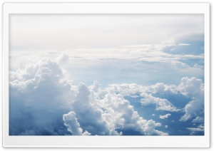 Clouds Aerial Photography HD Wide Wallpaper for 4K UHD Widescreen desktop & smartphone
