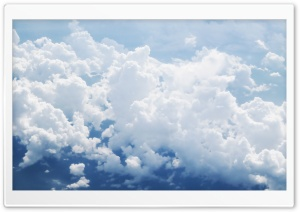 Clouds Aerial View HD Wide Wallpaper for 4K UHD Widescreen desktop & smartphone