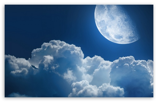 Clouds And Moon HD wallpaper for Wide 16:10 5:3 Widescreen WHXGA WQXGA WUXGA WXGA WGA ; HD 16:9 High Definition WQHD QWXGA 1080p 900p 720p QHD nHD ; Standard 4:3 5:4 3:2 Fullscreen UXGA XGA SVGA QSXGA SXGA DVGA HVGA HQVGA devices ( Apple PowerBook G4 iPhone 4 3G 3GS iPod Touch ) ; Tablet 1:1 ; iPad 1/2/Mini ; Mobile 4:3 5:3 3:2 16:9 5:4 - UXGA XGA SVGA WGA DVGA HVGA HQVGA devices ( Apple PowerBook G4 iPhone 4 3G 3GS iPod Touch ) WQHD QWXGA 1080p 900p 720p QHD nHD QSXGA SXGA ; Dual 5:4 QSXGA SXGA ;