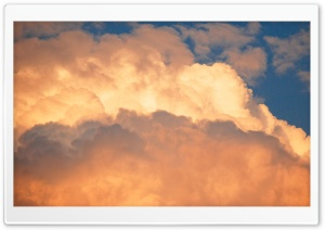 Clouds At Sunset HD Wide Wallpaper for 4K UHD Widescreen desktop & smartphone