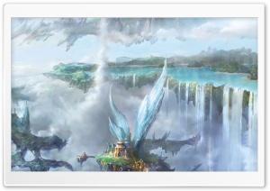 Clouds City HD Wide Wallpaper for 4K UHD Widescreen desktop & smartphone