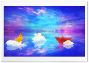 Clouds Fantasy World HD Wide Wallpaper for Widescreen