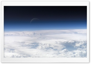 Clouds From Space HD Wide Wallpaper for Widescreen