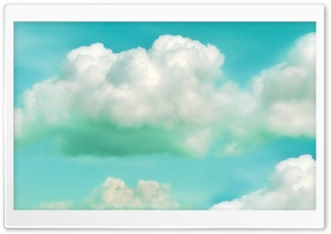 Clouds Green HD Wide Wallpaper for Widescreen