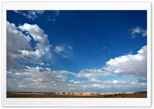 Clouds In Blue Sky 3 HD Wide Wallpaper for Widescreen