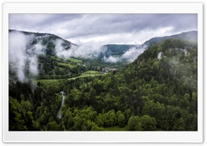 Clouds in the Valley HD Wide Wallpaper for Widescreen