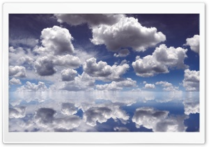 Clouds Over Water HD Wide Wallpaper for Widescreen
