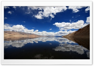 Clouds Reflection HD Wide Wallpaper for 4K UHD Widescreen desktop & smartphone