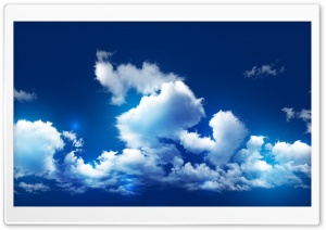 Cloudy HD Wide Wallpaper for Widescreen