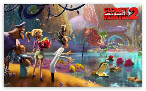 1 Cloudy With A Chance Of Meatballs 2 4K UHD Wallpaper For Wide 53