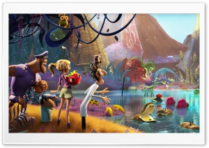 Cloudy with a Chance of Meatballs 2 2013 HD Wide Wallpaper for 4K UHD Widescreen desktop & smartphone