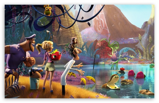 Cloudy with a Chance of Meatballs 2 2013 HD wallpaper for Wide 16:10 5:3 Widescreen WHXGA WQXGA WUXGA WXGA WGA ; HD 16:9 High Definition WQHD QWXGA 1080p 900p 720p QHD nHD ; Standard 4:3 5:4 3:2 Fullscreen UXGA XGA SVGA QSXGA SXGA DVGA HVGA HQVGA devices ( Apple PowerBook G4 iPhone 4 3G 3GS iPod Touch ) ; Tablet 1:1 ; iPad 1/2/Mini ; Mobile 4:3 5:3 3:2 16:9 5:4 - UXGA XGA SVGA WGA DVGA HVGA HQVGA devices ( Apple PowerBook G4 iPhone 4 3G 3GS iPod Touch ) WQHD QWXGA 1080p 900p 720p QHD nHD QSXGA SXGA ;