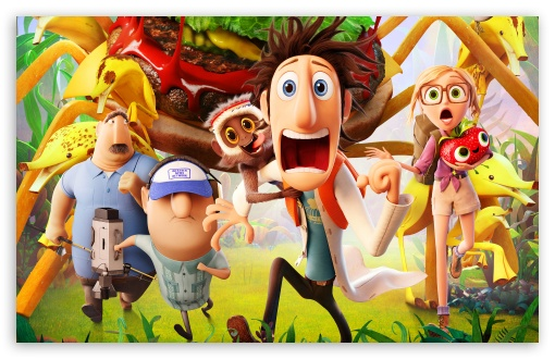 Cloudy with a Chance of Meatballs 2 Movie HD wallpaper for Wide 16:10 5:3 Widescreen WHXGA WQXGA WUXGA WXGA WGA ; Standard 4:3 3:2 Fullscreen UXGA XGA SVGA DVGA HVGA HQVGA devices ( Apple PowerBook G4 iPhone 4 3G 3GS iPod Touch ) ; iPad 1/2/Mini ; Mobile 4:3 5:3 3:2 16:9 - UXGA XGA SVGA WGA DVGA HVGA HQVGA devices ( Apple PowerBook G4 iPhone 4 3G 3GS iPod Touch ) WQHD QWXGA 1080p 900p 720p QHD nHD ;