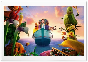 Cloudy With A Chance Of Meatballs 2 Revenge Of The Leftovers HD Wide Wallpaper for Widescreen