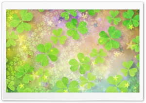 Clover World HD Wide Wallpaper for Widescreen