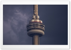 CN Tower HD Wide Wallpaper for Widescreen