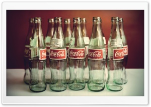 Coca Cola Bottles HD Wide Wallpaper for Widescreen