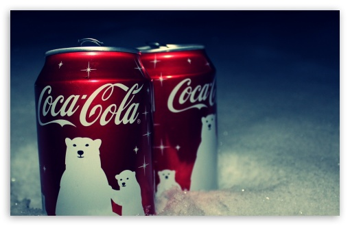 Download Coca Cola Christmas HD Wallpaper