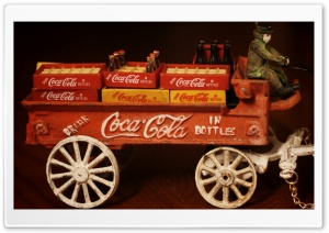 Coca Cola Delivery HD Wide Wallpaper for Widescreen