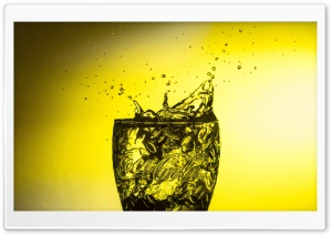 Coca Cola Glass HD Wide Wallpaper for Widescreen