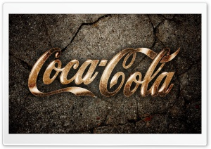 Coca Cola Grunge HD Wide Wallpaper for Widescreen
