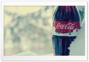 Coca-Cola Winter HD Wide Wallpaper for Widescreen