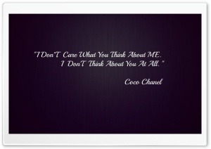 Coco Chanel HD Wide Wallpaper for Widescreen