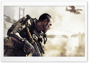 COD Advanced Warfare 2014 video game HD Wide Wallpaper for Widescreen
