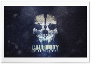 COD Ghosts Skull Ultra HD Wallpaper for 4K UHD Widescreen desktop, tablet & smartphone