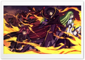 Code Geass HD Wide Wallpaper for 4K UHD Widescreen desktop & smartphone