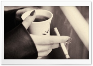 Coffee and Cigarettes HD Wide Wallpaper for Widescreen