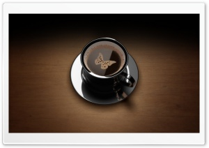 Coffee Art HD Wide Wallpaper for Widescreen