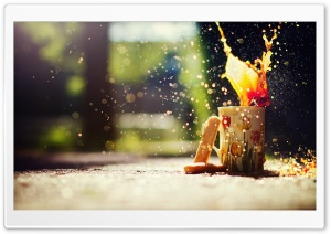 Coffee Bokeh HD Wide Wallpaper for 4K UHD Widescreen desktop & smartphone