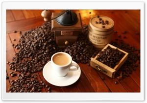 Coffee House HDR HD Wide Wallpaper for Widescreen