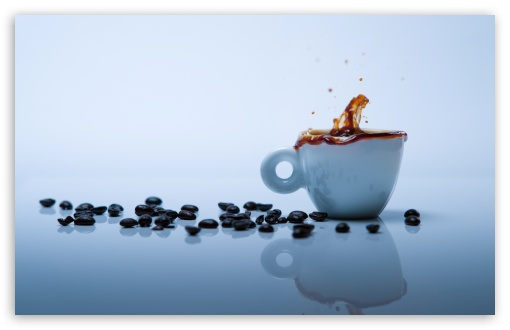 Coffee Splash HD wallpaper for Standard 4:3 5:4 Fullscreen UXGA XGA SVGA QSXGA SXGA ; Wide 16:10 5:3 Widescreen WHXGA WQXGA WUXGA WXGA WGA ; HD 16:9 High Definition WQHD QWXGA 1080p 900p 720p QHD nHD ; Other 3:2 DVGA HVGA HQVGA devices ( Apple PowerBook G4 iPhone 4 3G 3GS iPod Touch ) ; Mobile VGA WVGA iPhone iPad PSP Phone - VGA QVGA Smartphone ( PocketPC GPS iPod Zune BlackBerry HTC Samsung LG Nokia Eten Asus ) WVGA WQVGA Smartphone ( HTC Samsung Sony Ericsson LG Vertu MIO ) HVGA Smartphone ( Apple iPhone iPod BlackBerry HTC Samsung Nokia ) Sony PSP Zune HD Zen ; Tablet 2 Android ; Dual 4:3 5:4 16:10 5:3 UXGA XGA SVGA QSXGA SXGA WHXGA WQXGA WUXGA WXGA WGA ;