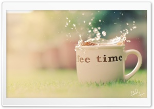 Coffee Time. HD Wide Wallpaper for 4K UHD Widescreen desktop & smartphone