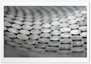 Coins HD Wide Wallpaper for Widescreen