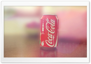 Coke Can HD Wide Wallpaper for Widescreen