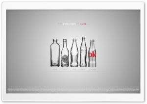Coke Evolution HD Wide Wallpaper for 4K UHD Widescreen desktop & smartphone