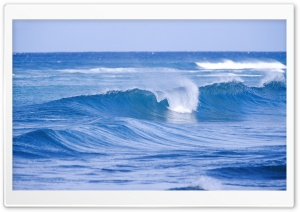 Cold Ocean Waves HD Wide Wallpaper for Widescreen