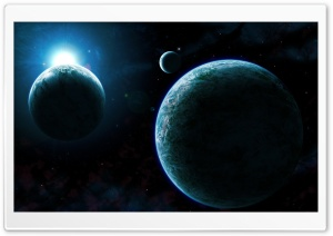 Cold Planets HD Wide Wallpaper for Widescreen