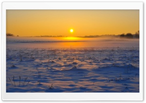 Cold Sunrise HD Wide Wallpaper for Widescreen