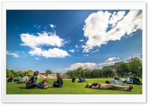 College Students Outdoor Ultra HD Wallpaper for 4K UHD Widescreen desktop, tablet & smartphone