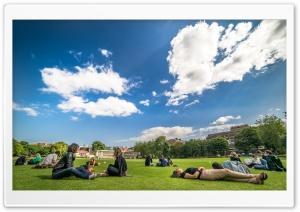 College Students Outdoor HD Wide Wallpaper for 4K UHD Widescreen desktop & smartphone