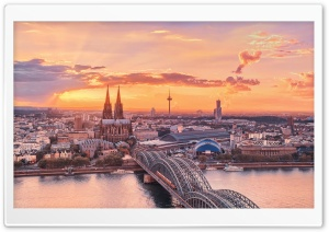 Cologne City Ultra HD Wallpaper for 4K UHD Widescreen desktop, tablet & smartphone