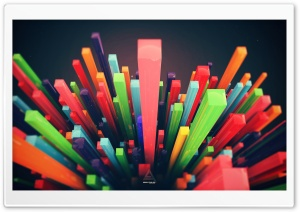 Color 3D HD Wide Wallpaper for Widescreen