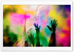 Color Burst HD Wide Wallpaper for Widescreen
