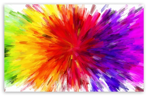 Color Painting color burst painting hd desktop wallpaper : widescreen : high