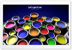Color Paint HD Wide Wallpaper for Widescreen